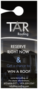 T.A.R Roofing - Win a Roof
