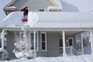 Roof snow removal Ottawa