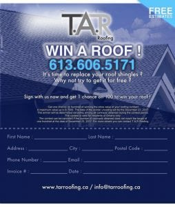 Win A Roof!