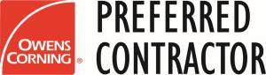 Owen's Corning Preferred Contractor Logo