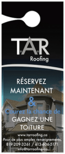 T.A.R Roofing - Gagnez une toiture