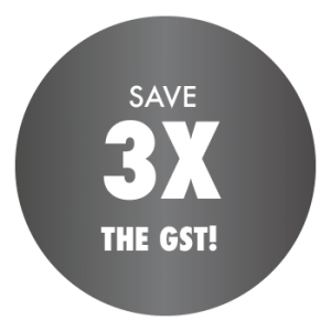 Save 3X the GST on roofing and siding services