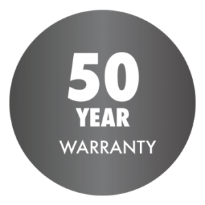50 year warranty on roofing and siding services