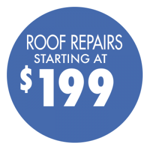 Roof repairs starting at $199