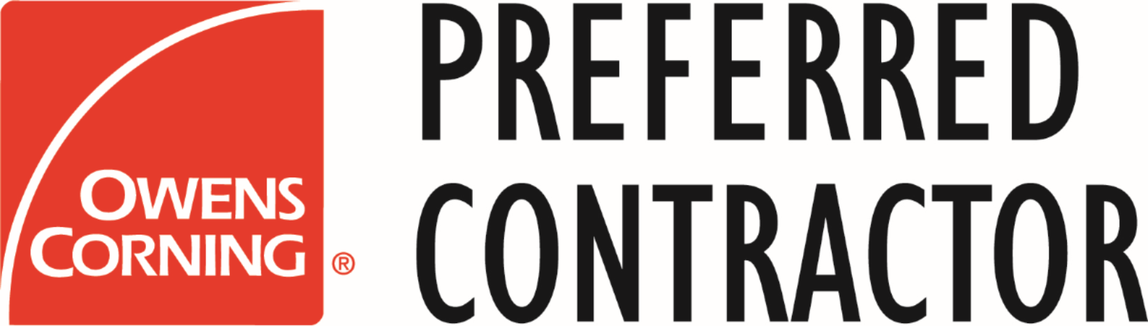 Owens Corning Preferred Contractor Logo