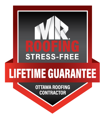MR. Roofer and siding roofing stress-free lifetime guarantee