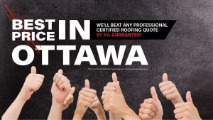 Best price IN Ottawa - We'll beat any professional certified quote by 5% Guarantee